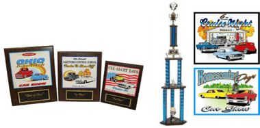 CAR SHOW PLAQUE BUNDLE 6