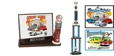 CAR SHOW PLAQUE BUNDLE 8