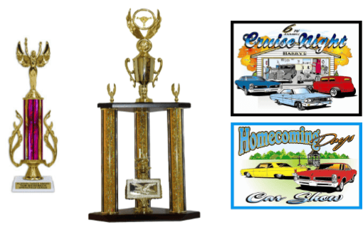 Custom Car Show Trophies Buy Awards At Trophy Outlet - Car show trophy packages