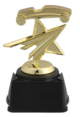 PINEWOOD DERBY STAR FIGURE TROPHY