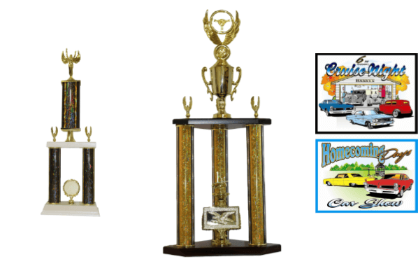 Auto Show Trophies Save More With Trophy Outlet - Car show trophy packages