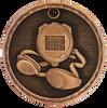 Swimming 3-D Medal
