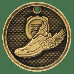 Track 3-D Medal
