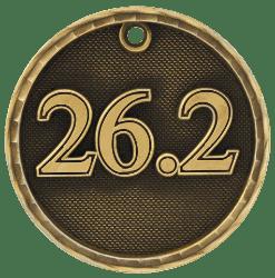 Marathon 3-D Medal