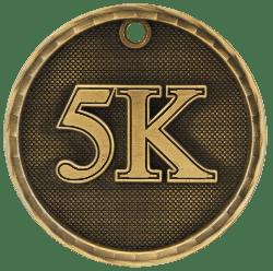 5K 3-D Medal