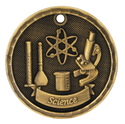 Science 3-D Medal