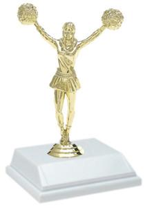 Cheerleading 6 Inch Trophy