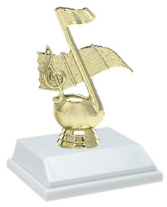 Music 6 Inch Trophy