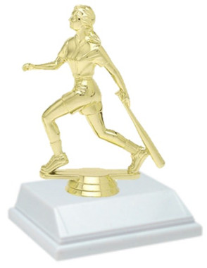 Softball 6 Inch Trophy