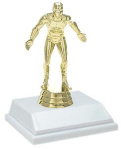 Wrestling 6 Inch Trophy