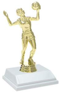 Volleyball Female 6 Inch Trophy