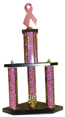 3 COLUMN AWARENESS TROPHY
