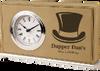 Leather Horizontal Desk Clocks