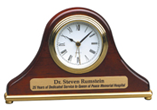Mantel Rosewood Piano Finish Desk Clock