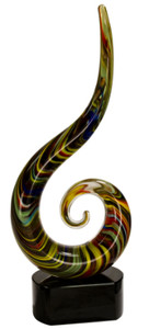 Premier Color Swoop Art Glass