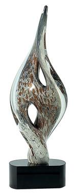 Premier Color Twist Spire Art Glass