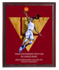 Basketball Female Plaque