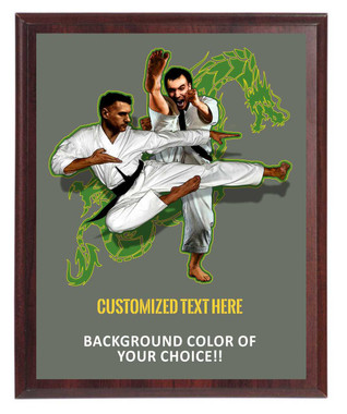 Martial Arts Plaque