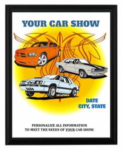 Car Show Plaque