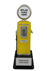 GAS PUMP - YELLOW