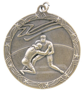 Wrestling Shooting Star Medal