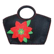 Mirth Poinsettia Purse/ Gift Bag