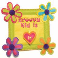 Groovy Kid Door Sign