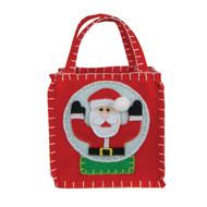 Santa Snow Globe Goodie Bag