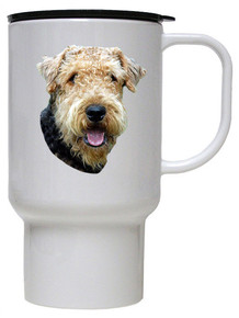 Airedale Polymer Plastic Travel Mug