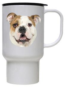 Bulldog Polymer Plastic Travel Mug