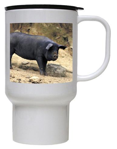 Pig Polymer Plastic Travel Mug
