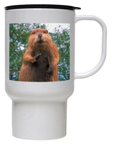 Beaver Polymer Plastic Travel Mug