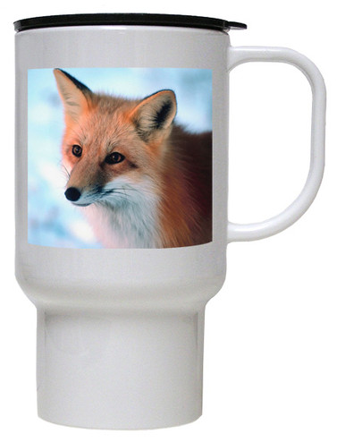 Fox Polymer Plastic Travel Mug