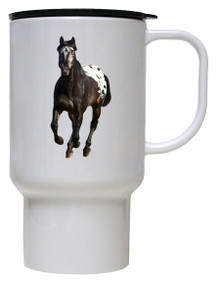 Appaloosa Polymer Plastic Travel Mug