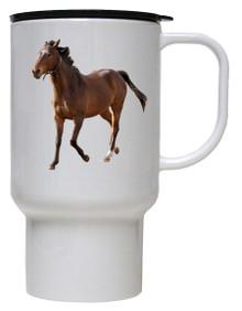 Arabian Polymer Plastic Travel Mug