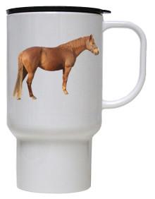 Barb Polymer Plastic Travel Mug