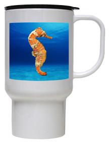 Seahorse Polymer Plastic Travel Mug