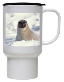 Seal Polymer Plastic Travel Mug