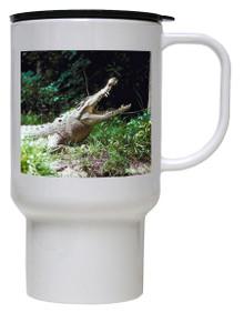 Crocodile Polymer Plastic Travel Mug