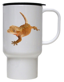 Gecko Polymer Plastic Travel Mug