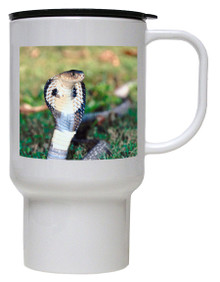 Cobra Snake Polymer Plastic Travel Mug