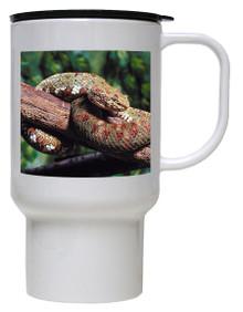 Viper Snake Polymer Plastic Travel Mug