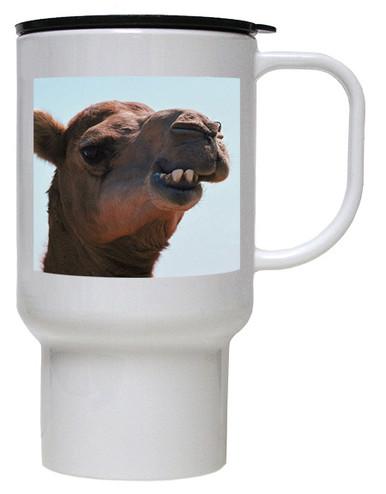 Camel Polymer Plastic Travel Mug