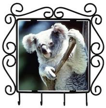 Koala Bear Metal Key Holder