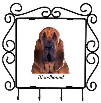 Bloodhound Metal Key Holder