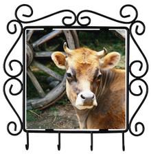 Cow Metal Key Holder