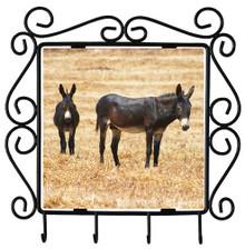 Donkey Metal Key Holder