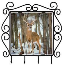 Deer Metal Key Holder