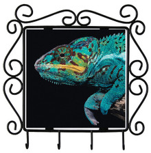 Chameleon Metal Key Holder