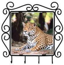 Jaguar Metal Key Holder